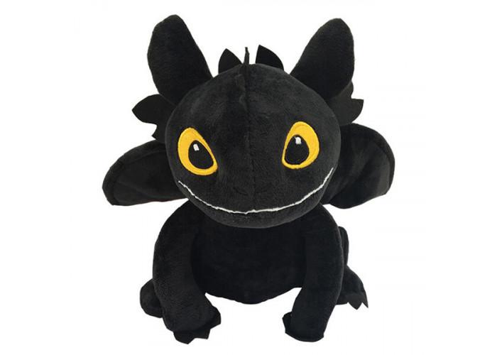 Мягкая игрушка Беззубик 35 см Черный