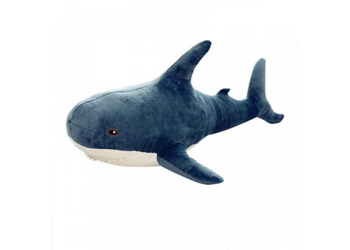 Мягкая игрушка Акула Серая 100 см