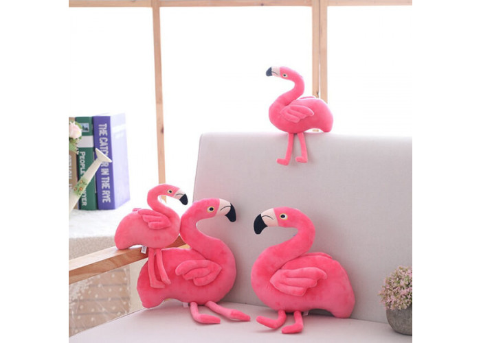 Мягкая игрушка Фламинго 40 см