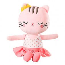Мягкая игрушка Котик Розовый 35 см