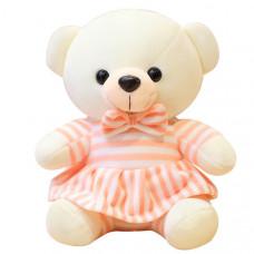 Мягкая игрушка Мишка в платье 35 см