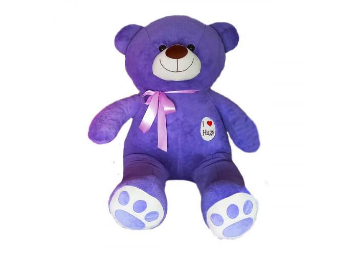 Медведь Hugs Сиреневый 90 см
