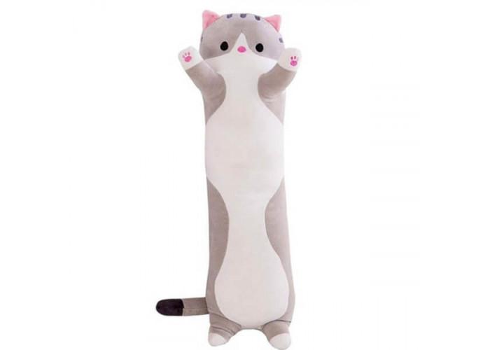 Мягкая игрушка Кот Серый 80 см