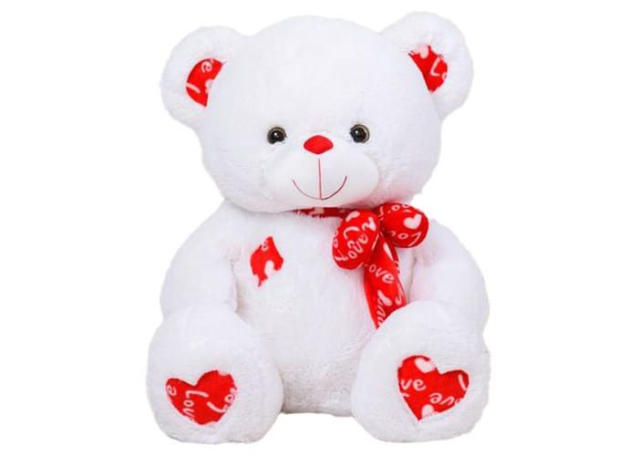 Медведь Барни Белый 80 см