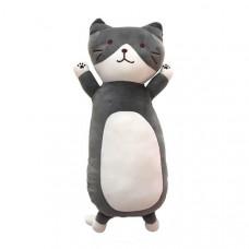 Мягкая игрушка Кот Серо-Белый 45 см