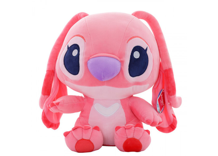 Мягкая игрушка Стич Розовый 50 см