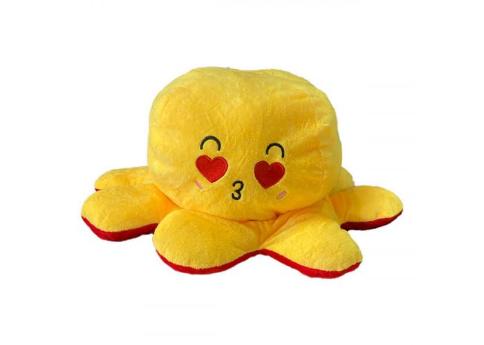 Осьминог перевертыш Красно-Желтый 30 см